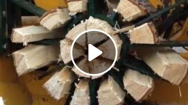 This wood splitter can split wood effortlessly, science & technology, wood cutting machine, machine technology