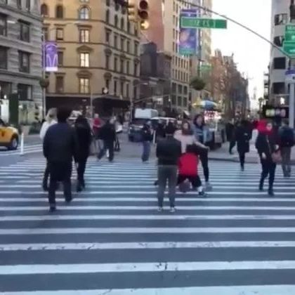 Basketball skills on the street