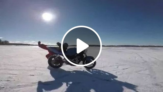 a man is trying to follow a motorbike on the snow, nature & travel, man, sports fashion, sports motorcycle, winter, snow